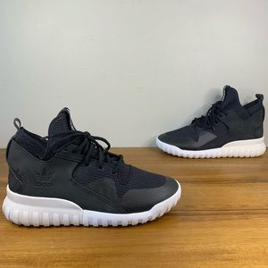 Adidas Tubular X Core Black Mens Sneaker Size 9